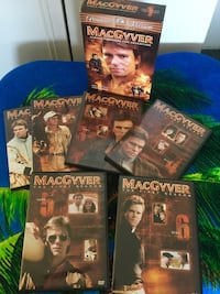The Complete 1 st Season 6 DVD disc Movies / MacGyver  Ready for Adventure :o) Alexandria, 22311