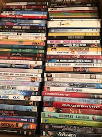 DVDs $1 each BUY 5get1 FREE, over 200 DVDs Comedy Romance Action &MORE