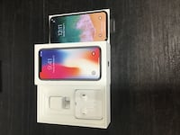 Brand New Apple iPhone X Gray 256GB AT&T Carrier Clean IMEI - SKU 6801 Greensboro, 27407