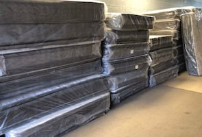 Orthopedic pillow top mattress set on Blowout Sale! Free delivery!