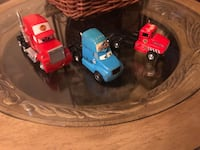 Cars toys 3 little, case too,  2 that holds cars  Tampa, 33604