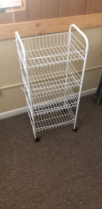 white metal 4-layer rack Morgantown, 26505