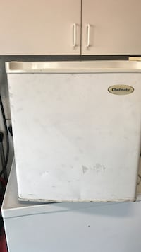 white Chefmate compact refrigerator San Diego, 92111