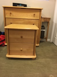 3-drawer chest and matching night stand Edmonton