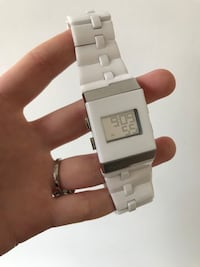 Kenneth Cole ceramic and stainless steel digital watch  Toronto, M6C 1M8