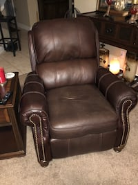 TWO leather recliners  796 mi