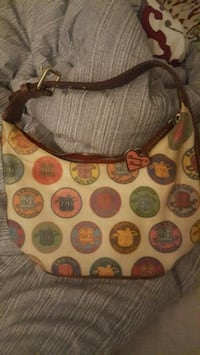 brown and red leather hobo bag Forestville, 20747