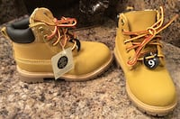 Toddlre's tan & black high cut shoes ( brand new with tag ) Calgary, T2J