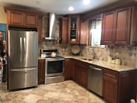 Kitchen cabinets, counter & kitchenaid appliances. Like new  Scarsdale, 10583