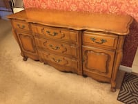 Dining room dresser solid wood. Excellent condition! Stony Brook, 11790