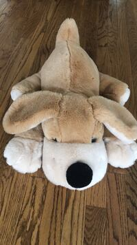white and brown bear plush toy Alexandria, 22305