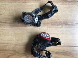LED head flashlights