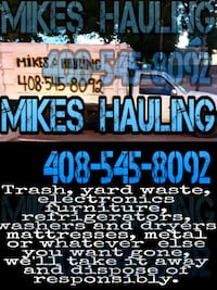 Hauling and junk removal Campbell