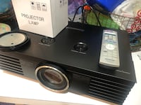 Panasonic Theater projector AE-2000 with two working bulbs Gaithersburg, 20878