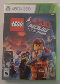 LEGO MOVIE video game (Xbox 360) brand new! Surrey, V3W 0G6