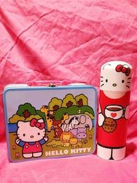 Hello Kitty metal lunchbox and thermos Dundalk, 21222