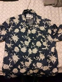New floral button up
