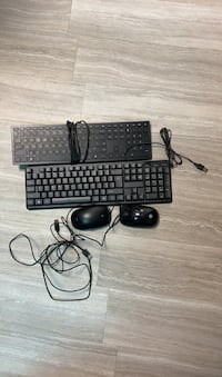 Keyboard/mouse 2 sets  $10 each set, $15 for all Oklahoma City, 73129