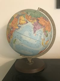Raised globe with nautical miles strip Silver Spring, 20910