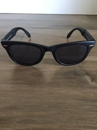 ray-ban folding wayfarer reader prescription sunglasses 3489 km