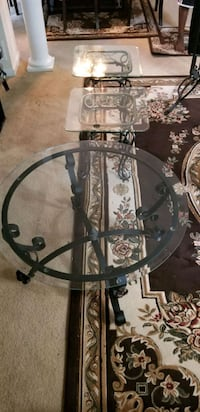 coffee table with 2 side tables Bristow
