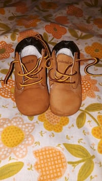 toddler's wheat Timberland crib boots Oakland, 94603