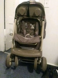 Baby Purple and Grey stroller with car seat Springfield, 01108