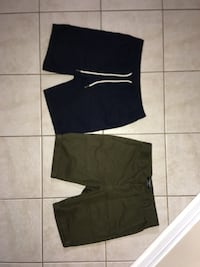 two black and one gray shorts Toronto, M6N 2W8