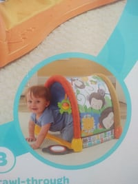 Fisher Price tummy time gym play center tunnel Use Ventura, 93003
