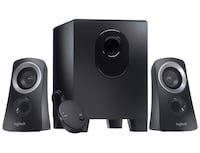 Logitech 2.1 Speaker System & Bluetooth Audio Adapter for streaming!!