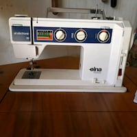 Sewing machine. Embroidery, Elna Air electric SU.
