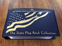 US state flag patch complete set New London, 06320