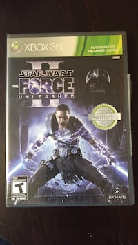 Star Wars The Force Unleashed PS3 game case Guelph, N1G 2Y7