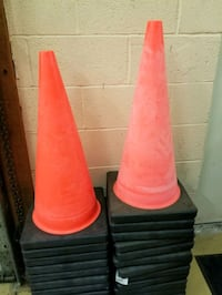 "Traffic cones- Cortina 28"" Chantilly, 20151"