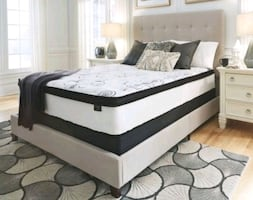 Ashley Chime 12 inch hybrid mattress Twin Mattress NEW Retail $206.53
