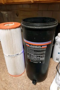 Brand new hot tub filter with cartridge