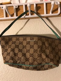 monogrammed brown and black Gucci leather handbag Las Vegas, 89121
