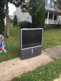 "Free 50"" rear projection TV Leesburg, 20176"