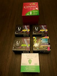 U Kotex tampons summer Eve wipes and liners Randallstown, 21133