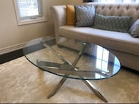 Glass coffee table  Markham, L3P 4K4