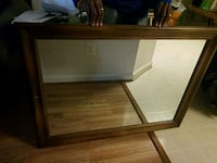Large Vintage Mirror Woodbridge, 22192