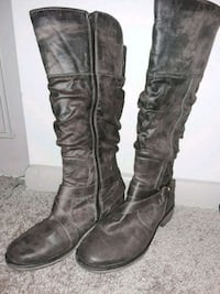 brown thigh-high boots size 9 Roswell, 30076