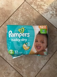 Pamper Baby-Dry sz.3 Barrie