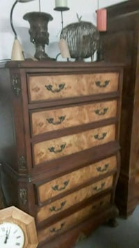 Burl Wood Chest of Drawers Dresser Cincinnati, 45202