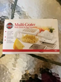 Multi-Grater with juicer & egg separator  Clinton