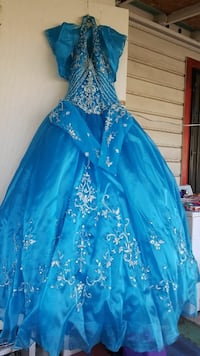 Turquoise Quince Dress
