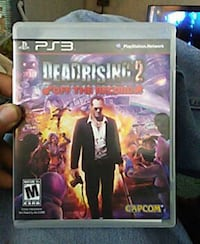 Deadrising 2 Off The Record Sony PS3 game case