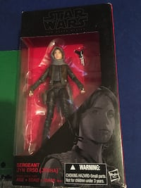 "STAR WARS 6"" scale Jyn Erso action figure Marietta"