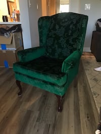 Vintage emerald green arm chair Coconut Creek, 33063