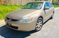 * Slightly Negotiable * Leather* 2003 Honda Accord  Riverdale Park